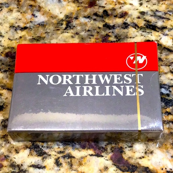 Sealed Northwest Airlines paint cads.